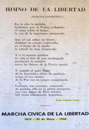 thumbnail of 1956 mayo. Marcha civica de la Libertad. Himno