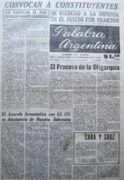 thumbnail of 1956. Palabra Argentina N 10