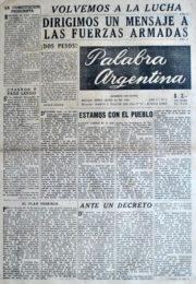 thumbnail of 1956. Palabra Argentina N 5