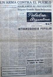 thumbnail of 1956. Palabra Argentina N 8