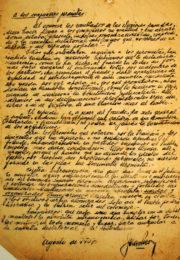 thumbnail of 1957 agosto. Carta de Peron para circular