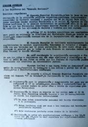 thumbnail of 1957 agosto. Comando Superior Peronista