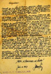 thumbnail of 1957 julio. Carta de Peron para circular 2
