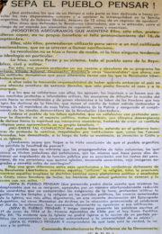 thumbnail of 1957. Sepa el Pueblo pensar