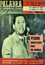 thumbnail of 1960. Palabra Argentina N 110