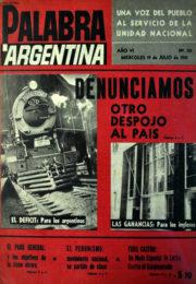thumbnail of 1961. Palabra Argentina N 121