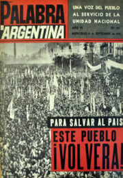 thumbnail of 1961. Palabra Argentina N 129