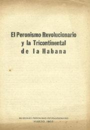 thumbnail of 1966. El Peronismo Revolucionario y la Tricontinental