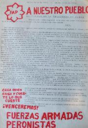 thumbnail of 1973 julio 26. A nuestro pueblo