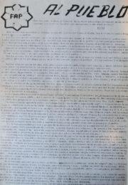 thumbnail of 1973 junio. Al pueblo por los acontecimientos de Ezeiza