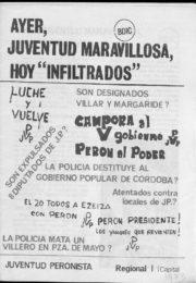 thumbnail of 1974 Ayer Juventud Maravillosa Hoy infiltrados