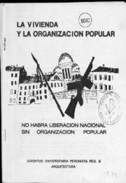 thumbnail of 1974 La vivienda y la organizacion popular