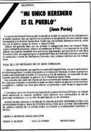 thumbnail of 1974 julio 4. Mi unico heredero es el Pueblo