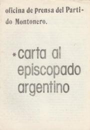thumbnail of 1977 febrero 7. Carta al Episcopado Argentino