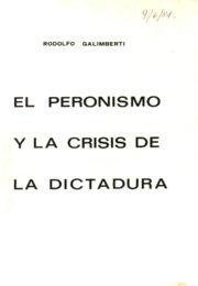 thumbnail of 1981. El peronismo y la crisis de la dictadura. Galimberti