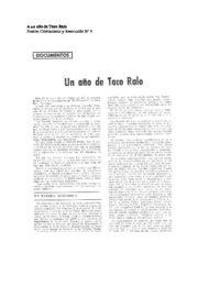 thumbnail of A un anno de Taco Ralo