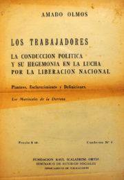 thumbnail of Amado Olmos. Los Trabajadores