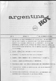 thumbnail of Argentina hoy 1981 N 9
