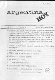 thumbnail of Argentina hoy 1982 N 11