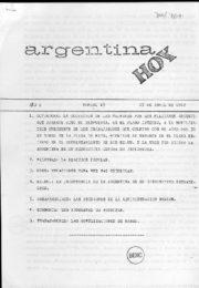 thumbnail of Argentina hoy 1982 N 13