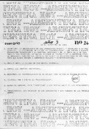 thumbnail of Argentina hoy 1983 N 24