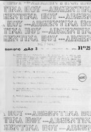 thumbnail of Argentina hoy 1983 N 25