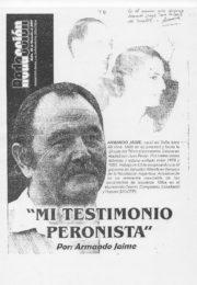 thumbnail of Armando Jaime. Mi testimonio peronista