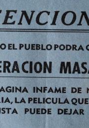 thumbnail of Atencion. Pronto elpueblopodra conocer Operacion Masacre