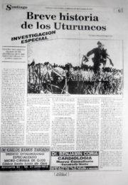 thumbnail of Breve historia de los Uturuncos Notas de Prensa