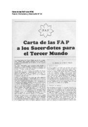 thumbnail of Carta de FAP a MST