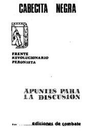 thumbnail of Cebecita Negra Apuntes para la discusion