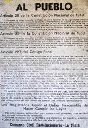 thumbnail of Comando Civil Revolucionario. Al Pueblo
