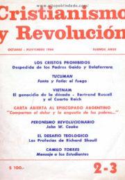 thumbnail of Cristianismo y Revolucion n 02-03