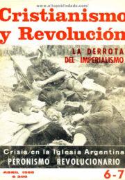 thumbnail of Cristianismo y Revolucion n 06-07