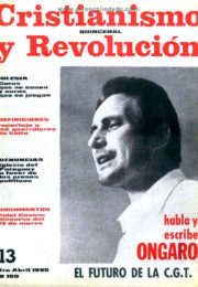 thumbnail of Cristianismo y Revolucion n 13