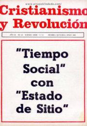 thumbnail of Cristianismo y Revolucion n 18
