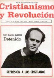 thumbnail of Cristianismo y Revolucion n 19