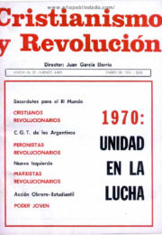 thumbnail of Cristianismo y Revolucion n 22