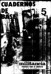 thumbnail of Cuadernos de Base n 05