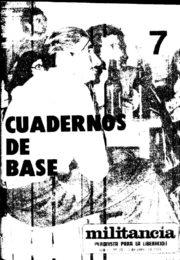 thumbnail of Cuadernos de Base n 07