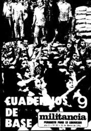 thumbnail of Cuadernos de Base n 09