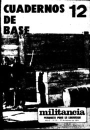 thumbnail of Cuadernos de Base n 12