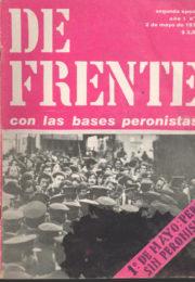thumbnail of De Frente n 01