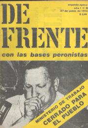 thumbnail of De Frente n 08