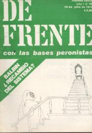 thumbnail of De Frente n 10