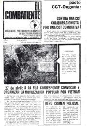 thumbnail of El Combatiente n 003