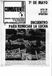thumbnail of El Combatiente n 006