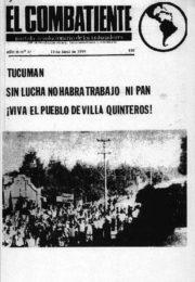 thumbnail of El Combatiente n 027