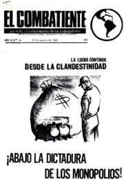 thumbnail of El Combatiente n 034