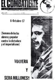 thumbnail of El Combatiente n 037